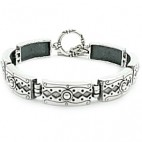 Art Deco Rectangular Link Bracelet