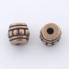 Bronze Spacer with Dots