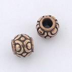 Bali Motif Bronze Bead