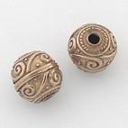 Bali Antique Bronze Bead
