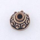 Bronze Bead Cap