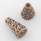 Conical Bronze Bead Cap