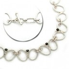 Openwork Double Ovals Necklace 4rd