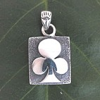 Ace of Clubs Slide Pendant
