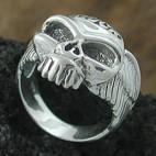 Flying Skull Ring