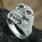 Rockers Skull Ring