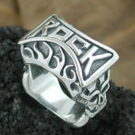Rock On Fire Ring